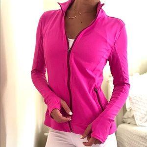 Athleta Zip Up Jacket - Pink